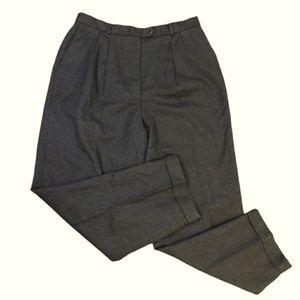 Talbots 100% pure wool woolmark pants 16 XL